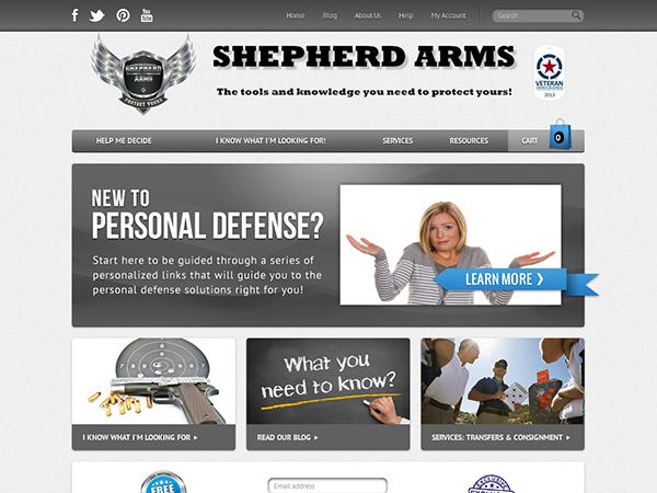 SHEPHERD ARMS..